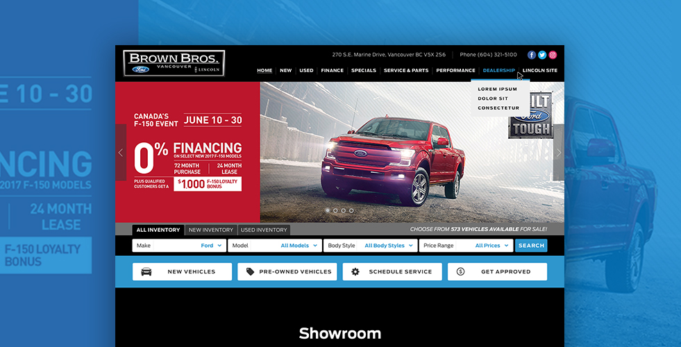 Brown Bros Ford New Used Ford Dealership Vancouver Bc